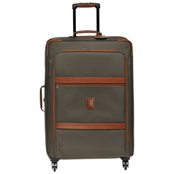 Wheeled suitcase L, 042 Brown, hi-res