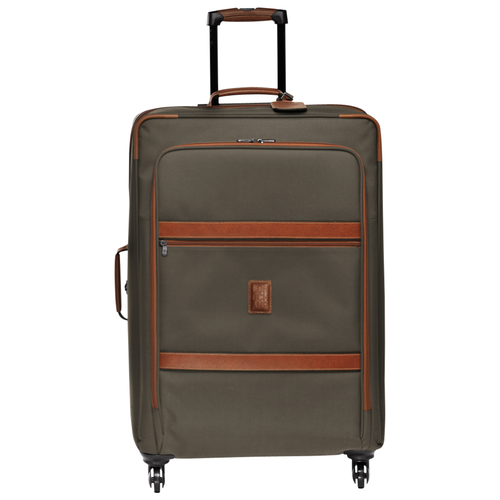 View 1 of Wheeled suitcase L, 042 Brown, hi-res