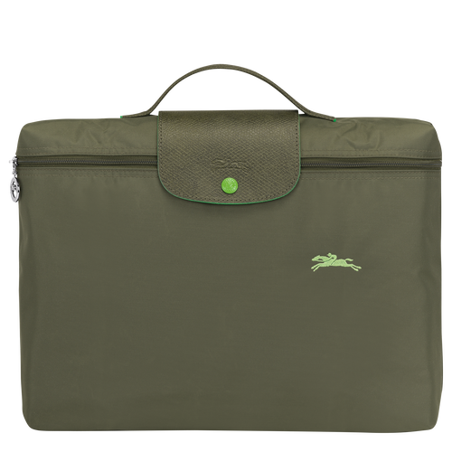 Briefcase S, Longchamp Green - View 1 of  5 -