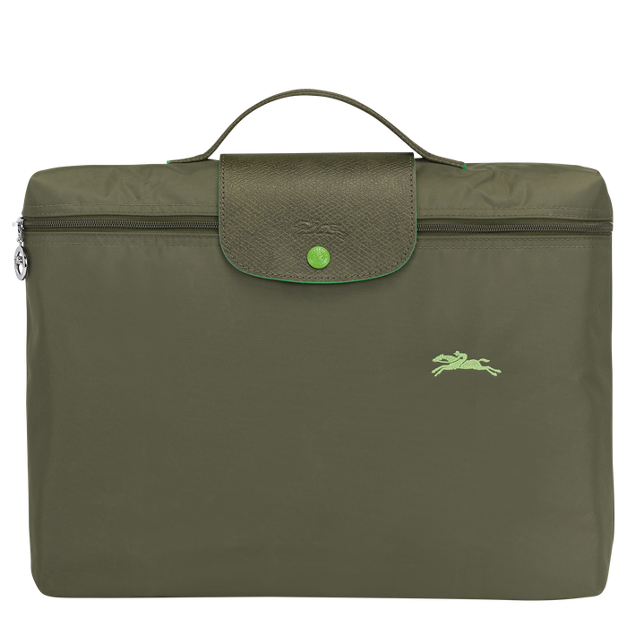 Briefcase S, Longchamp Green - View 1 of  5 - zoom in
