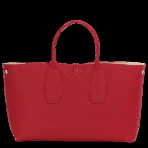 View 4 of Top handle bag L, Red, hi-res
