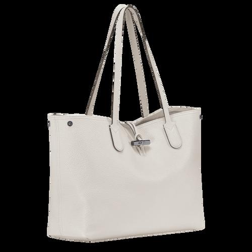 Essential Shoulder bag L, Talc, hi-res - View 3 of 3