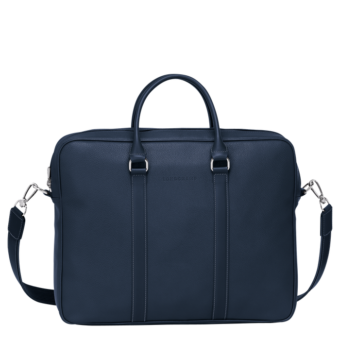 Briefcase M, Navy - View 1 of  3 - zoom in