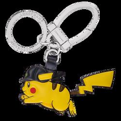 Horsecap Pikachu key ring