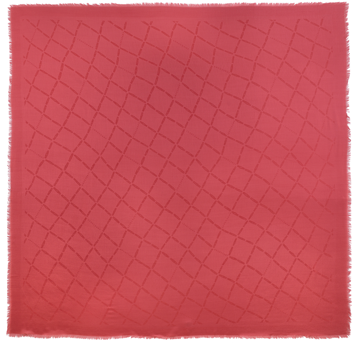 Damenschal, Rot, hi-res - View 1 of 1