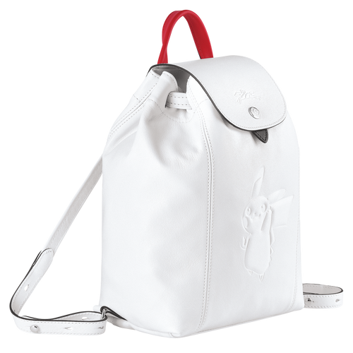 Backpack, White - View 2 of  3 -