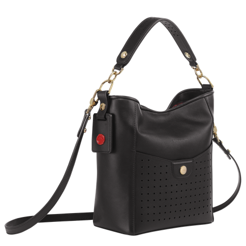 Small bucket bag, Black, hi-res - View 2 of 3