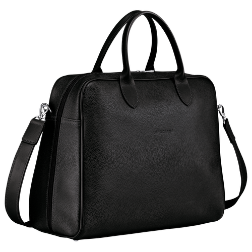 Briefcase L, Black - View 2 of  4 -