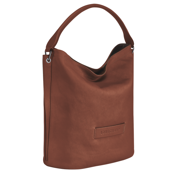 Sac porté épaule Longchamp 3D Cognac (L1768772504) | Longchamp FR