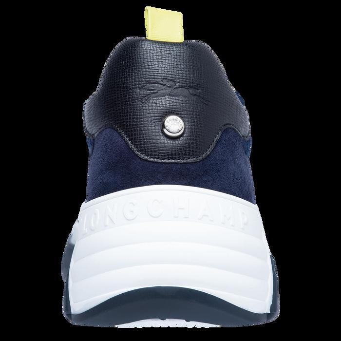 Sneakers, Noir/Marine - Vue 3 de 5 - agrandir le zoom