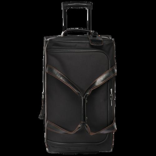Reisetasche mit Rollen, Schwarz/Ebenholz - Ansicht 1 von 3 -