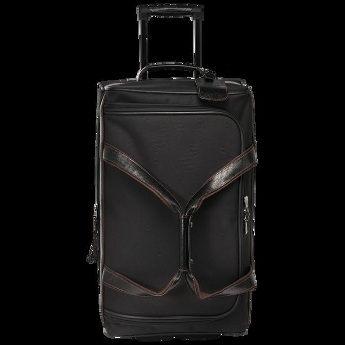 Reisetasche mit Rollen, Schwarz/Ebenholz - Ansicht 1 von 3 - Zoom vergrößern