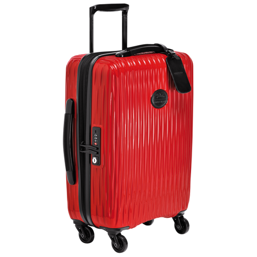 Small wheeled suitcase, Red, hi-res - View 2 of 3