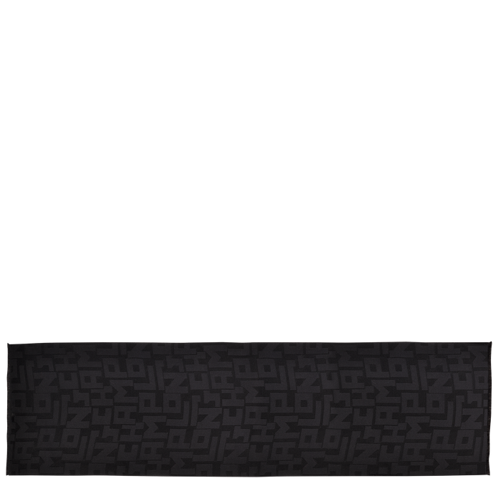 Damenschal, Schwarz/Ebenholz - Ansicht 1 von 1 - Zoom vergrößern