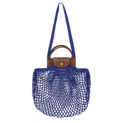 Top handle bag, Blue
