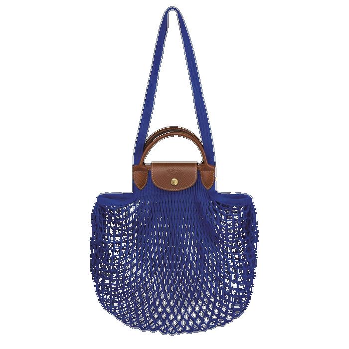 Bolso con asa superior, Azul - Vista 1 de 3.0 - ampliar el zoom