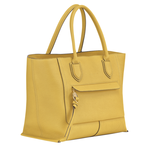 Top handle bag L, Yellow - View 2 of  3 -