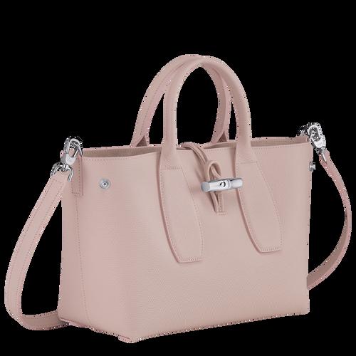 Top handle bag M, Powder/Ivory - View 3 of  5 -