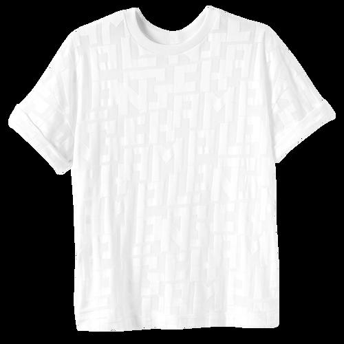 Collection Printemps/Été 2021 T-shirt, Blanc
