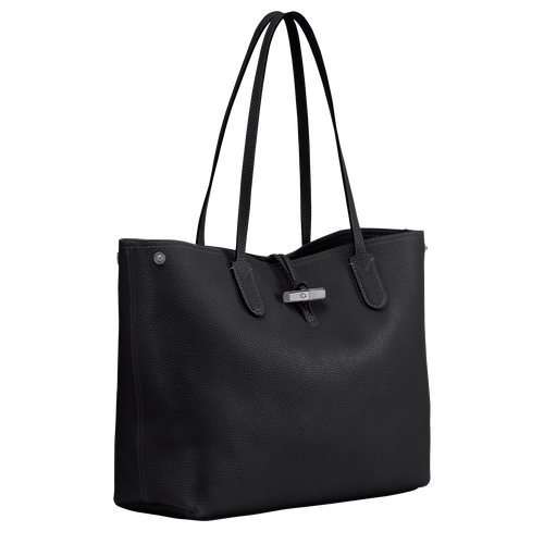 Essential Shoulder bag L, Black, hi-res - View 2 of 3