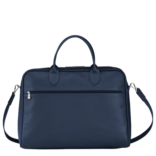 Briefcase L, Navy - View 3 of 4 -