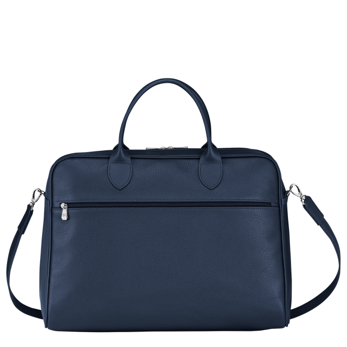 Briefcase L, Navy - View 3 of 4 - zoom in