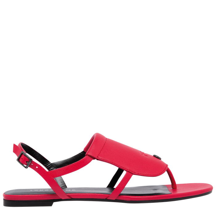 Flat sandals, Red - View 1 of  3.0 - zoom in