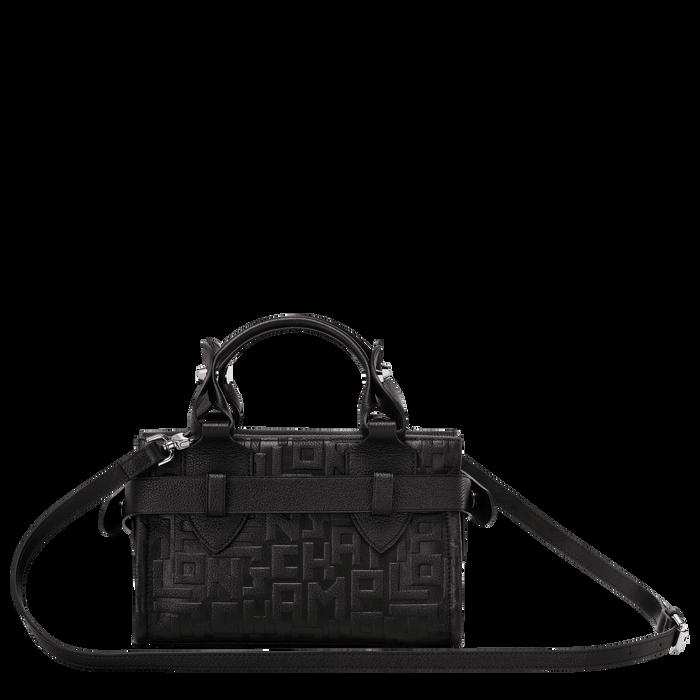 Top handle bag S, Black/Ebony - View 3 of  3 - zoom in