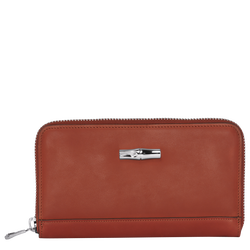 Zip around wallet, A29 Burnt Red, hi-res