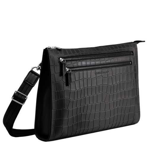 Messenger bag, Zwart, hi-res - View 2 of 3