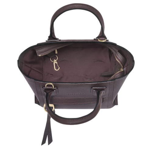 Top handle bag S, Aubergine - View 4 of 4 -