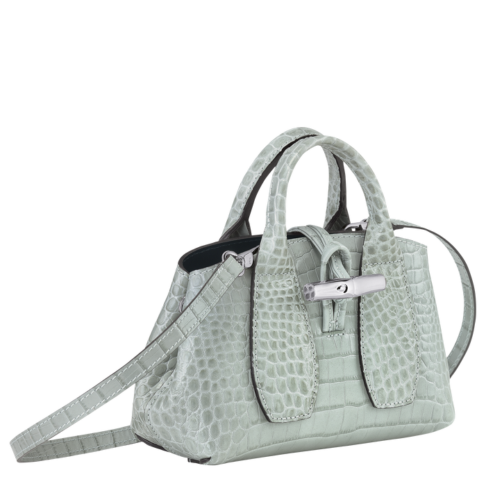 Top handle bag XS, Jade - View 3 of  4.0 - zoom in