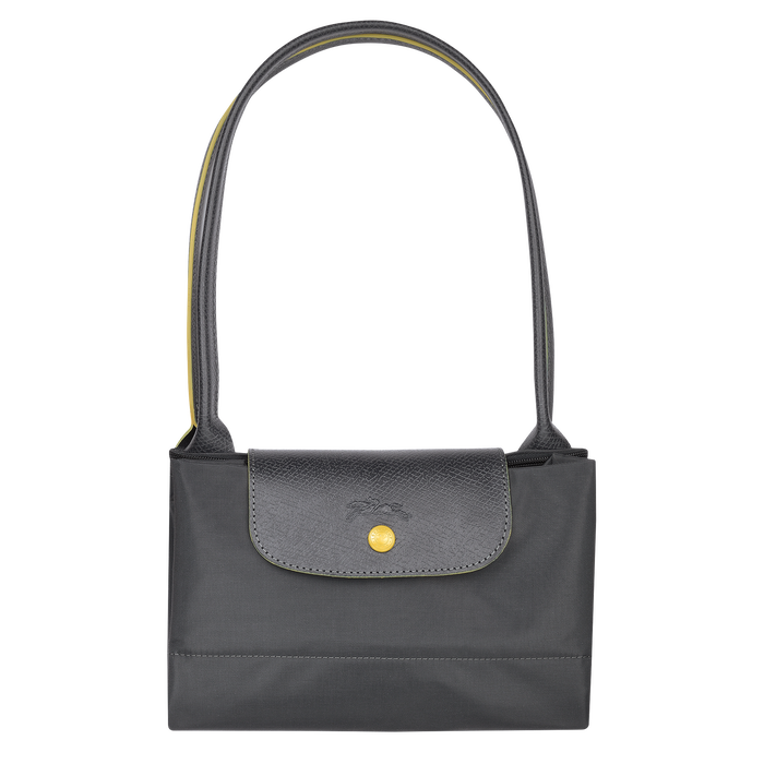 Shoulder bag L, Gun metal, hi-res - View 4 of 4