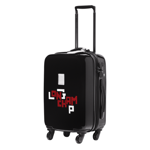 View 2 of Small wheeled suitcase, Black, hi-res