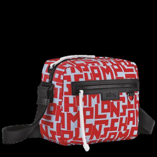 Le Pliage LGP Crossbody bag M, Sage/Poppy