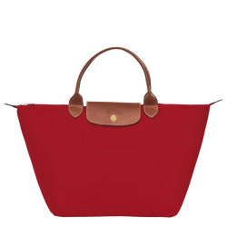 Top handle bag M, Red