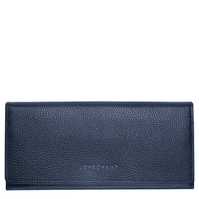 Long continental wallet, Navy - View 1 of  2 - zoom in