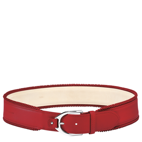 Women's belt, 545 Red, hi-res