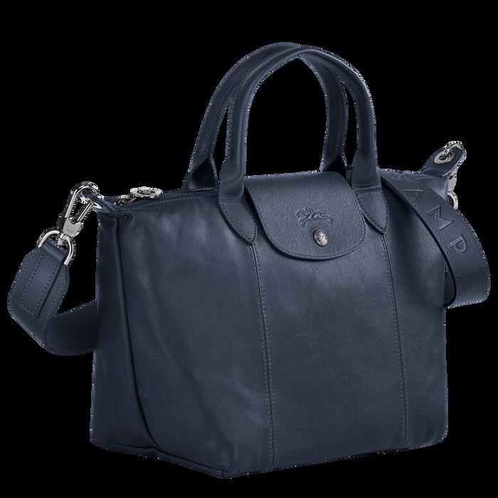 Le Pliage Cuir 手提包 S, 海軍藍色