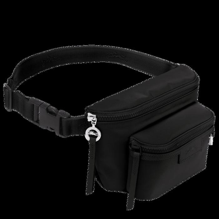 Le Pliage Néo Belt bag M, Black