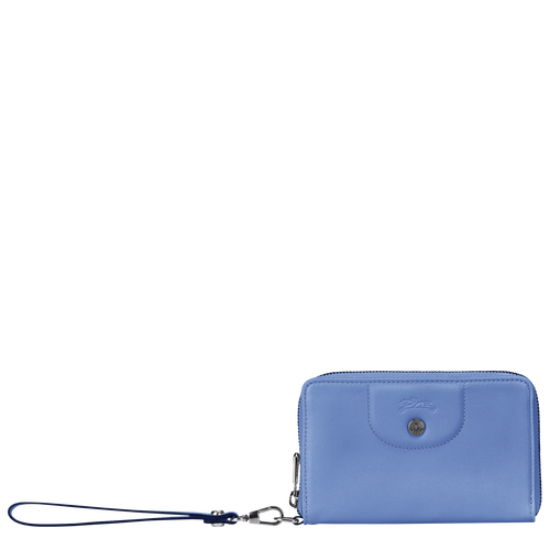 Compact wallet, Blue, hi-res - View 1 of 2