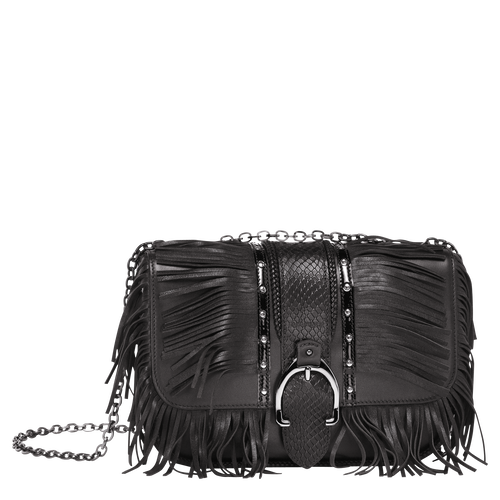 Shoulder Bag S, 001 Black, hi-res