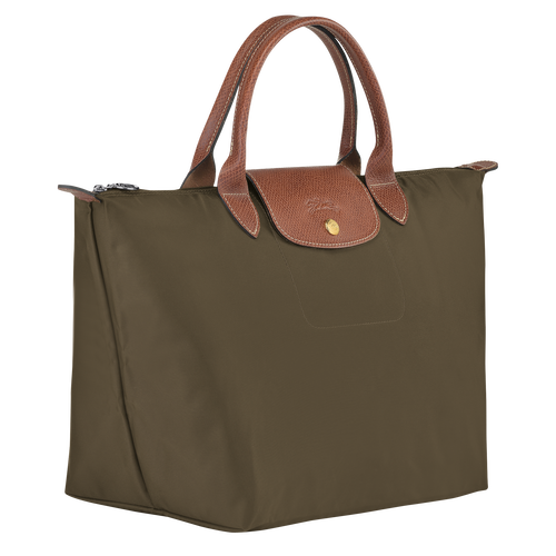 Top handle bag M, Khaki - View 2 of 4 -