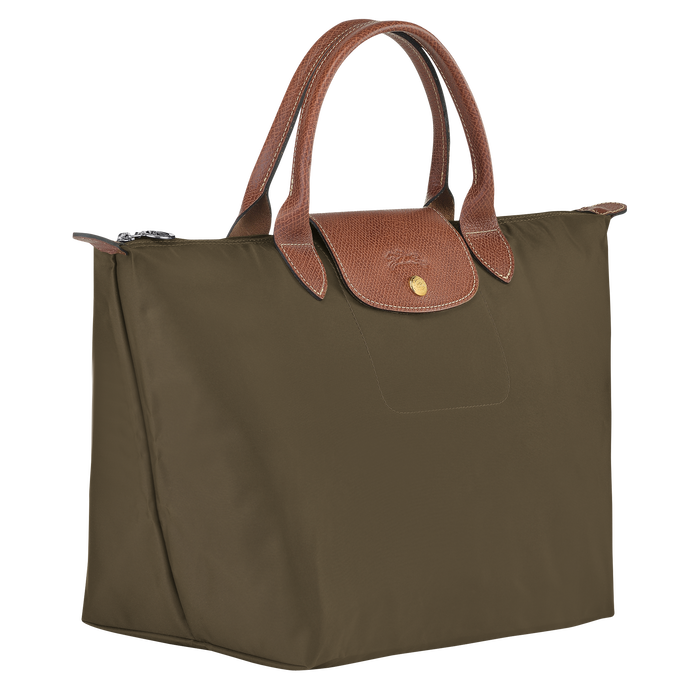 Top handle bag M, Khaki - View 2 of 4 - zoom in
