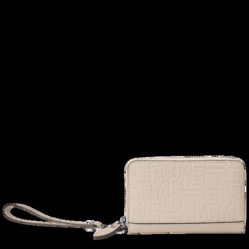Portefeuille compact, Craie, hi-res - Vue 1 de 2