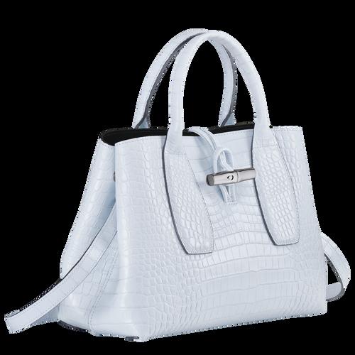 Top handle bag M, Sky Blue - View 3 of  4 -