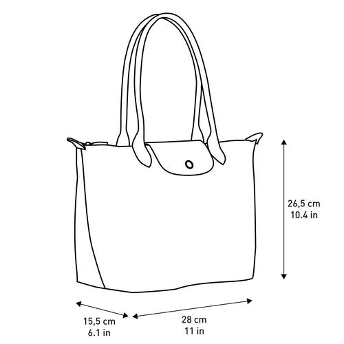 Shopper S, Metallgrau - Ansicht 6 von 6 -