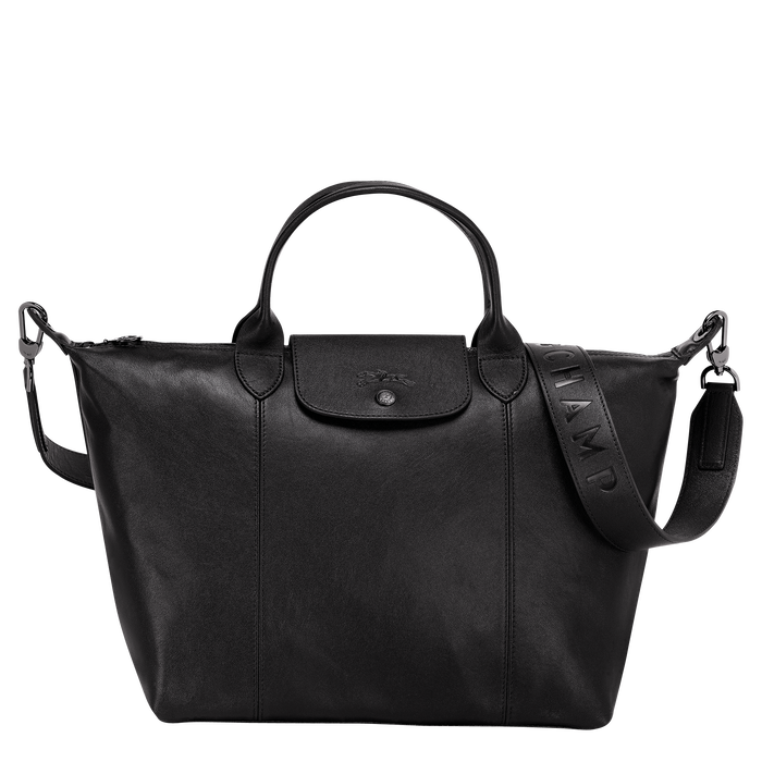 Top handle bag M, Black/Ebony - View 1 of  5 - zoom in