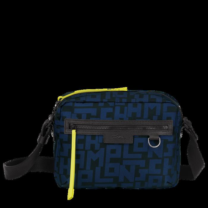 斜揹袋 M, 黑色/海軍藍色 - 查看 1 4 - 放大
