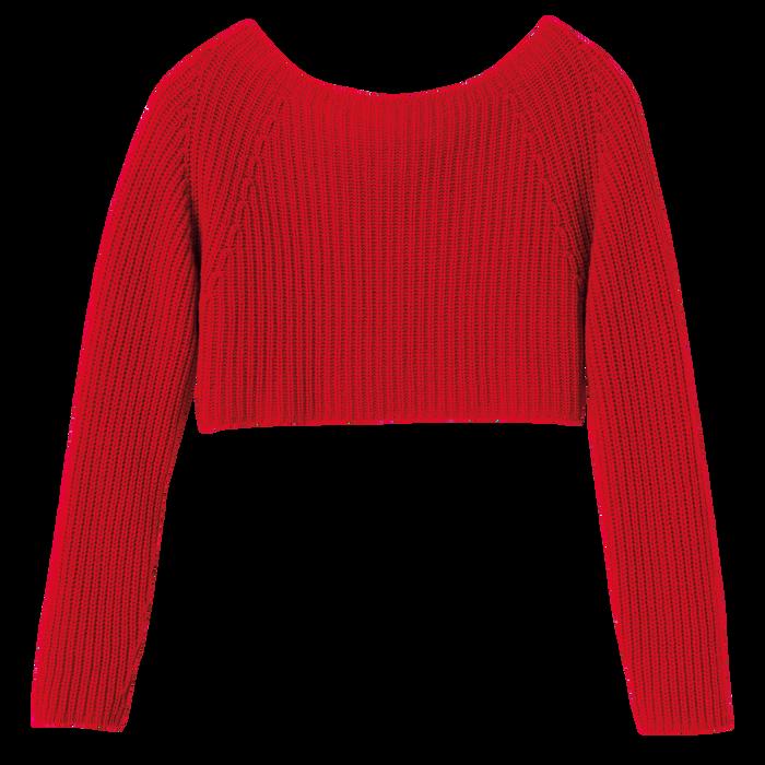 2021 秋冬系列 套衫, 紅色